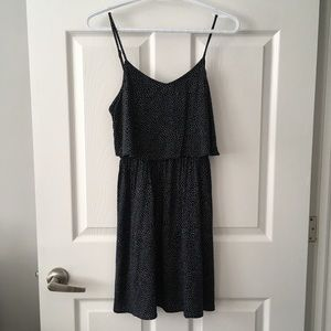 H&M Divided layered polka dot dress